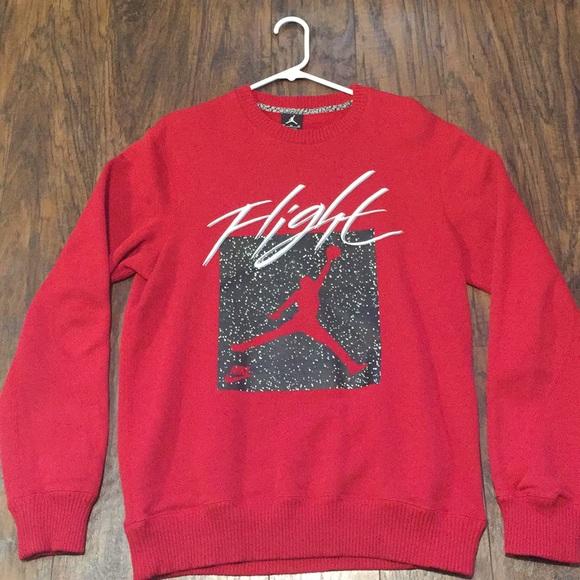 95a5413dc294 Jordan Other - Like new Jordan Flight crewneck sweatshirt